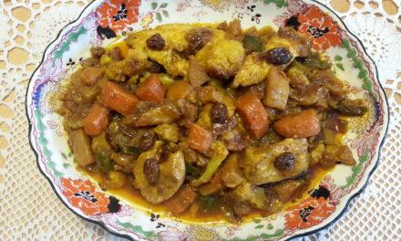 Yellow Indian Chicken