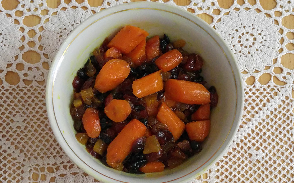 Glazed Carrots with Curcumall and Ginger