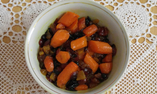 Triple Superfoods: Glazed Carrots with Curcumall and Ginger
