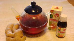 hot curcumall drink morning