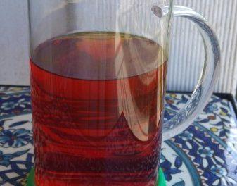 Cold Healthy Curcumin Tea