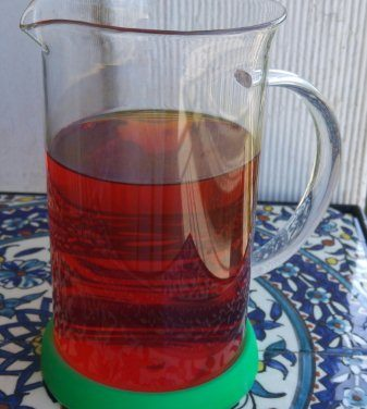 Cold Healthy Curcumin Tea