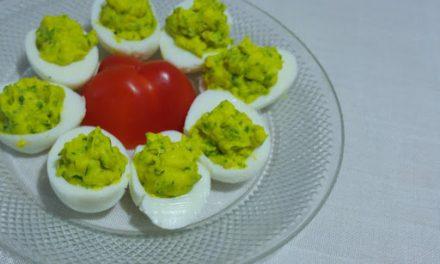 Angel Eggs — Healthy Deviled Eggs with Curcumall®