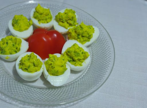 Angel Eggs — Healthy Deviled Eggs with Curcumall®