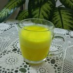Golden Turmeric Tea Latte with Curcumall®