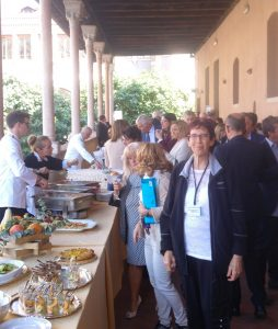Lunch at the Pain Conference in Italy