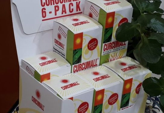 Save 15% on Curcumall 6-pack till September 25
