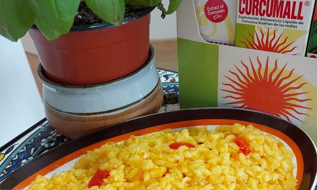 Yummy Yellow Risotto with Curcumall®
