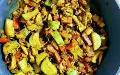 Indian Roasted Veggies with Curcumall