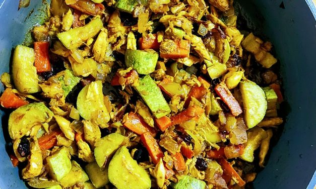 Indian Roasted Veggies with Curcumall